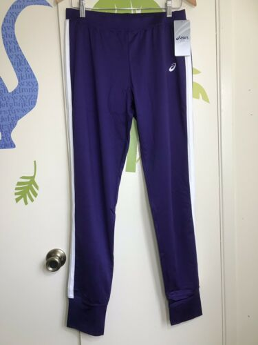 Asics Women's Purple Jogger Pants Sz Medium Long NWT Orig