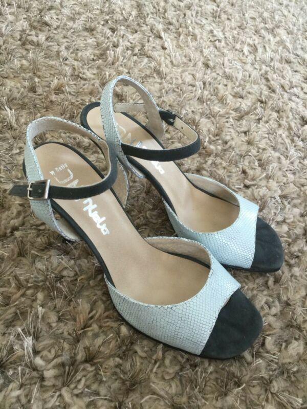 DNI light blue tango shoes size 7.5