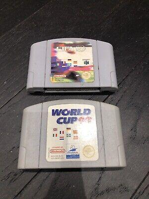 WORLD CUP 98 & FIFA 98 NINTENDO 64 / N64