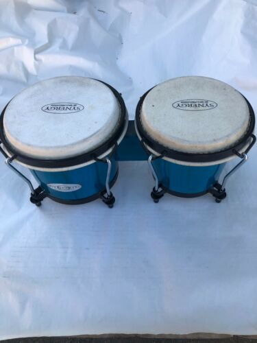 SYNERGY BY TOCA PERCUSSION BONGOS BLUE