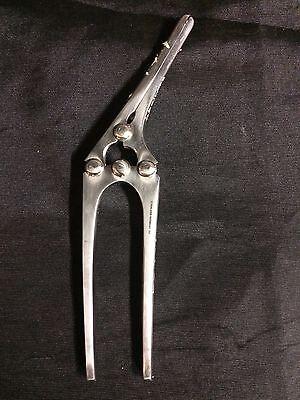 8 Clamp Plyorus Intestinal Clamp Medical Hospital Veterinary Stainless Steel