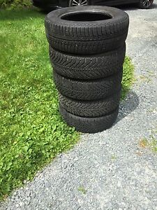 Good year winter tires + spare for 15 dollars