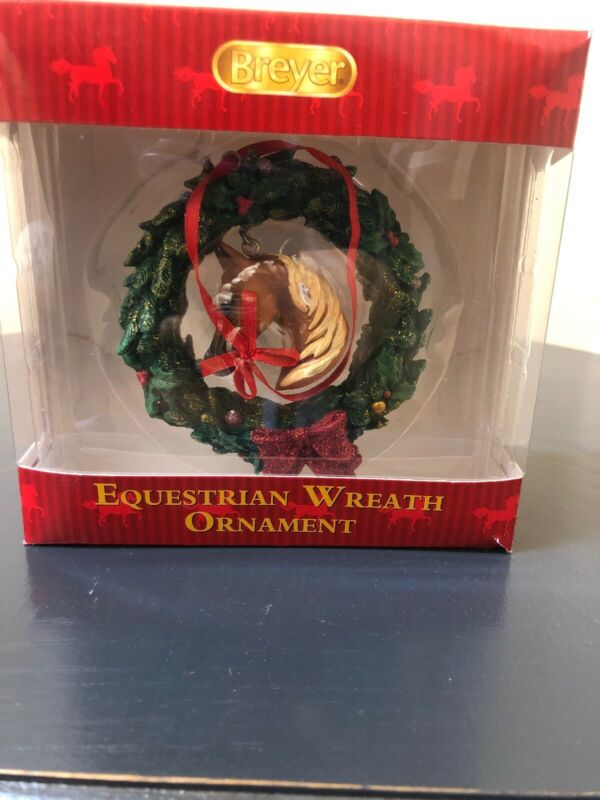 Breyer Christmas Equestrian Wreath Ornament