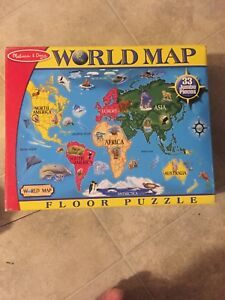 Kids Melissa and Doug learning puzzles