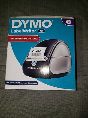 Dymo Labelwriter 450 New Label Printer - Blacksilver