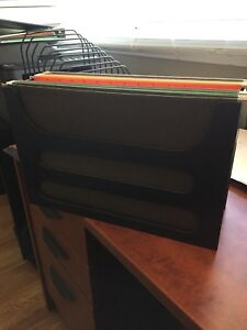 Desk top Legal file folder holder