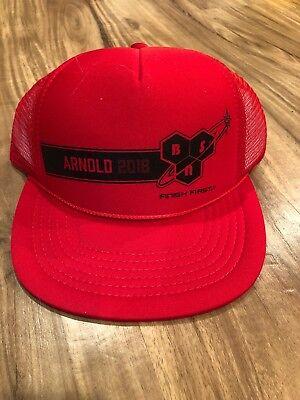 - Arnold Schwarzenegger Classic Columbus Ohio BSN Finish First Snapback Cap Hat