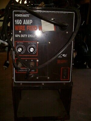 Powermate Wire Feed Welder 160 Amp 60 Duty Cycle