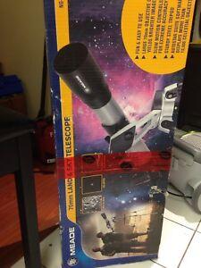 MEADE 70mm telescope