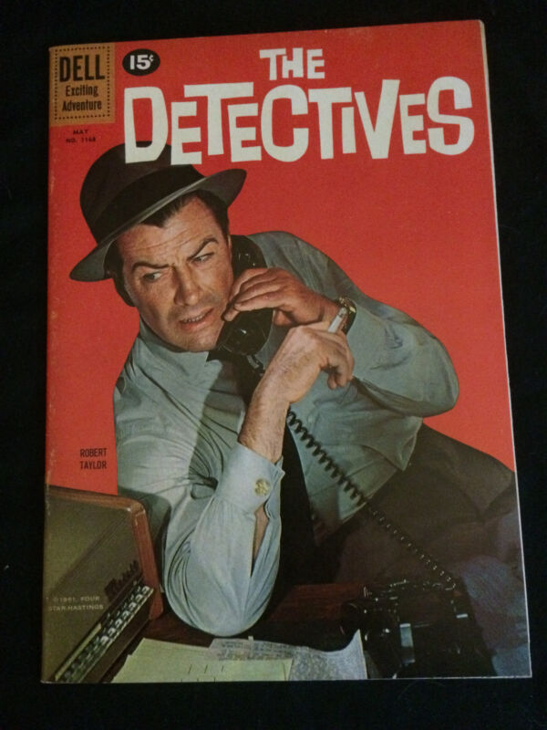 THE DETECTIVES Four Color #1168 VF Condition
