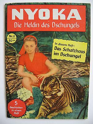 Nyoka Nr.2, Semrau-Verlag, Zustand 2+
