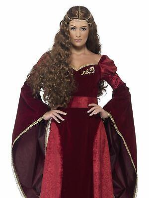Medieval Queen Warrior Womens Costume Ladies Fancy Dress Outfit Roman - Warrior Queen Kostüm