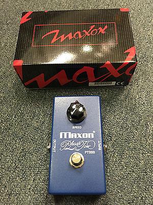 Maxon PT999 Phase Tone Pedal  Script Phaser  Brand New!
