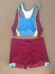 Girls South Coast School Sport Uniform Crop and Bike Pants Mermaid Waters Gold Coast City Preview
