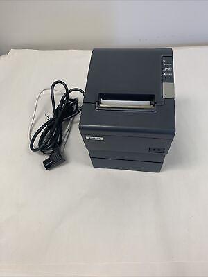 Epson Tm-t88v M244a Usb Serial Thermal Receipt Printer Wps-180 Power Supply