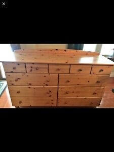 Looking for Hemnes dresser in natural wood finish.