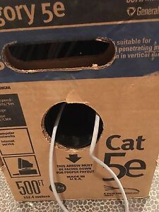 Cat 5e custom network computer cable