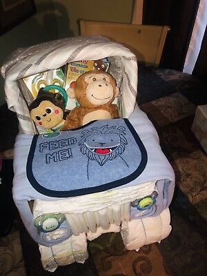 Jeep diaper cake UNISEX baby gift