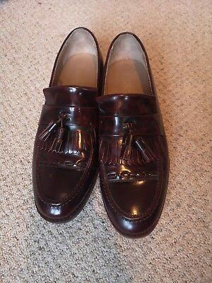 House of Hounds Mens burgundy Tassel Loafer Shoe - Size 10