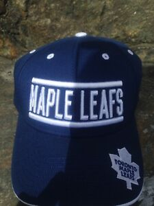 Toronto Maple Leafs hat, one size fits all, new