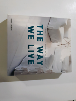 THE WAY WE LIVE (coffee table book)