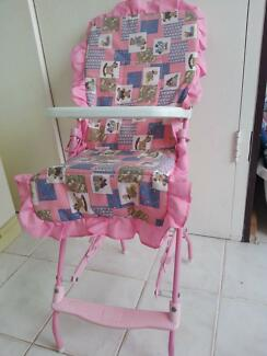Doll / Baby Born / Toy High Chair Kallaroo Joondalup Area Preview