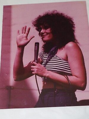 "Early Linda Ronstadt Color Photo 8"" x 10"""