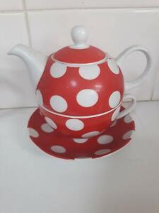 tea cup & pot