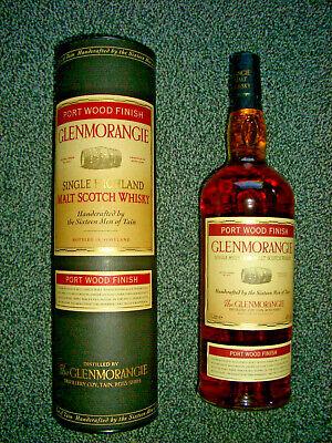 Glenmorangie Single Highland Malt Whisky Port Wood Finish 1,0 Liter 43 % SELTEN