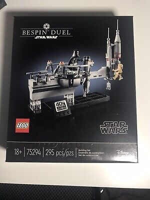 LEGO Star Wars Bespin Duel Set 75294) New In Hand Sealed