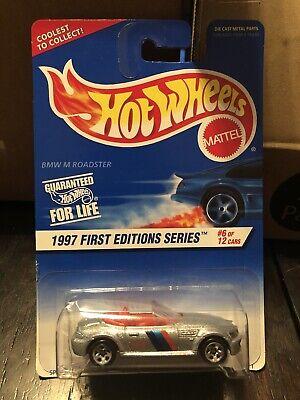 Hot Wheels 1997 First editions '97 BMW M Roadster RARE W/ 5 spoke Wheels-  #6/12