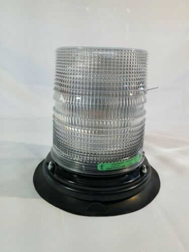 """Star Warning Systems Halo Beacon 258HTDCLV-Amber/Red - Caution/Warning - 4 3/4"""""""