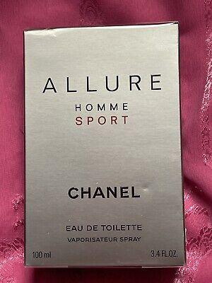 Chanel Allure HOMME Sport Eau de Toilette 100 ml EDT NEU &...
