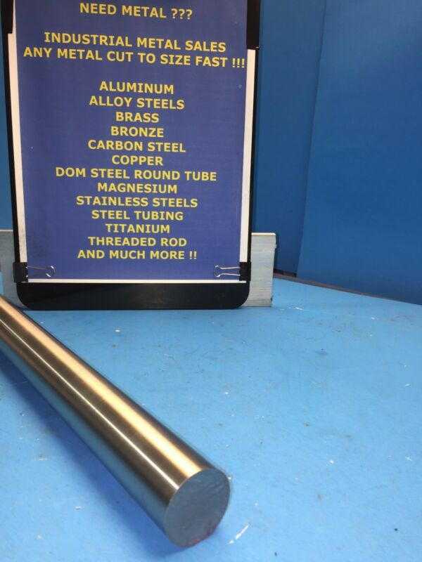 "1045 Precision Shaft Steel Round Bar 1"" Dia x 24""-Long T G&P"