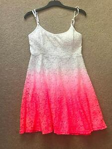 Mooloola Dip Dyed Pia Crochet Dress - Size 12 Cherrybrook Hornsby Area Preview