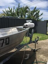 2013 3.8m tinny with 2013 seamax 15hp outboard Bilinga Gold Coast South Preview