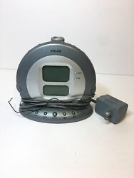 Homedics SS-5000 Sound Spa Projection Alarm Clock Radio A5