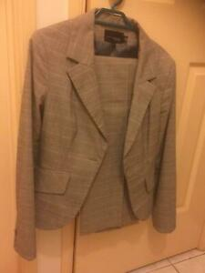 Tokito grey pant suit, size 10, near new, was $140 new - 82% off