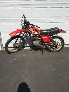 1980 Honda xl250  street and trail