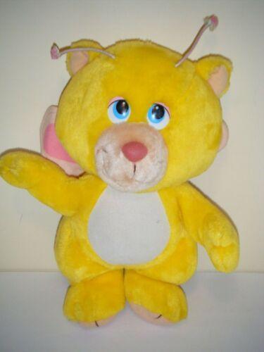 Hasbro 1985 Disney WUZZLES ButterBear Plush Stuffed Toy