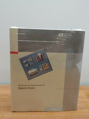 New Sealed Hewlett Packard Using HP-UX + Visual User Environment 3.0 Users Guide Hewlett Packard Users Guide