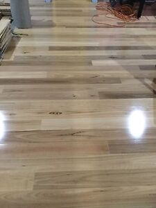 Wood, Wooden flooring black butt engineered 14mm thick quick step Bedfordale Armadale Area Preview