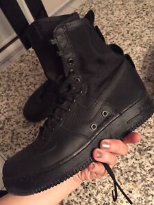Nike SF air force size 9 for women (straps lost)