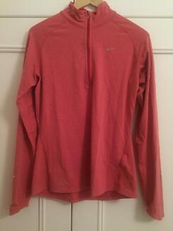 Nike Womens Pink Technical Activewear Pullover Top