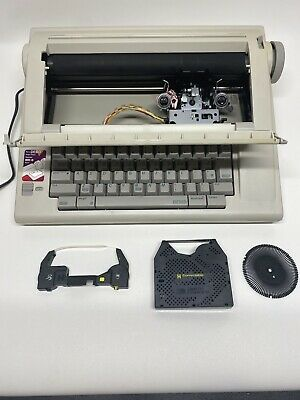 Smith Corona Memory Correct Portable Electric Typewriter Na1hh Tested Working
