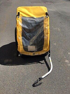 Burley Bee Bike Trailer (2 seats) up to 100 lb