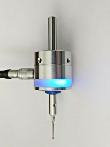 Waterproof 3D Digitizing touch probe for CNC with 8 mm shank, 2 mm ruby ball tip