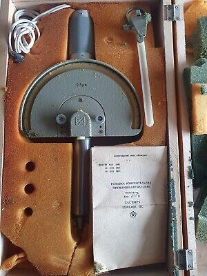 Mikrokator -0.05 Mm - Metric 0.0005mm Per Division Ussr New