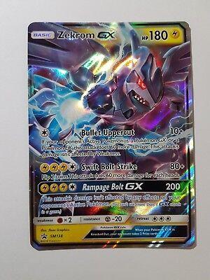 Zekrom GX - SM138 Black Star Promo (Pokemon) Ultra Rare