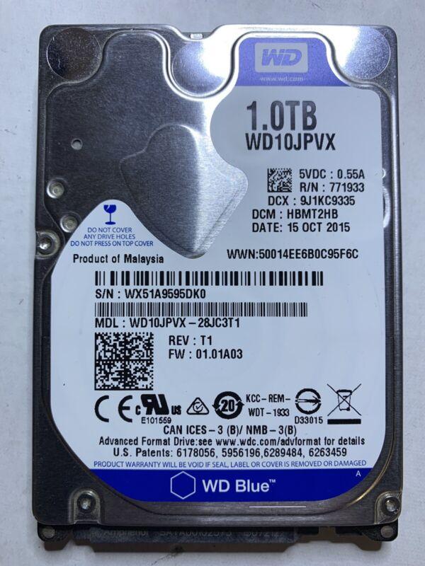XBOX ONE X INTERNAL 1TB WESTERN DIGITAL HARD DISK DRIVE REPLACEMENT PART SATA